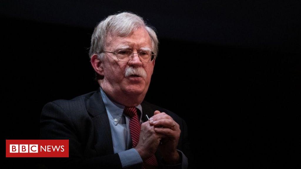 John Bolton: Die Trump-Administration verklagt das Buch zu blockieren