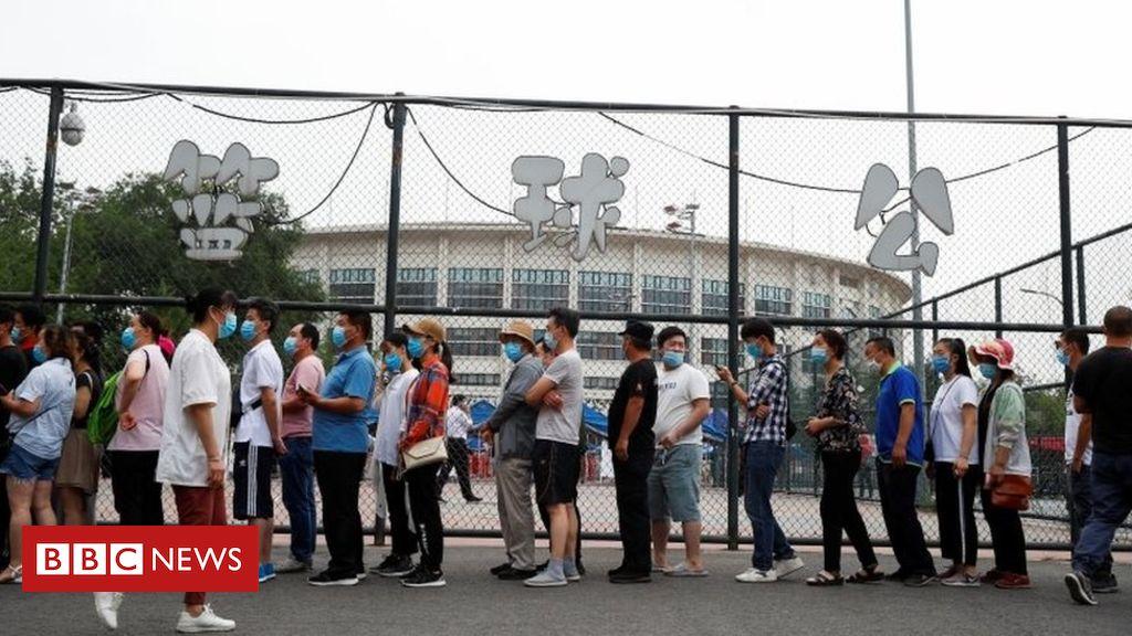 Coronavirus in Peking: 27 Stadtteile dürfen nicht abreisen, da die Spitze anhält