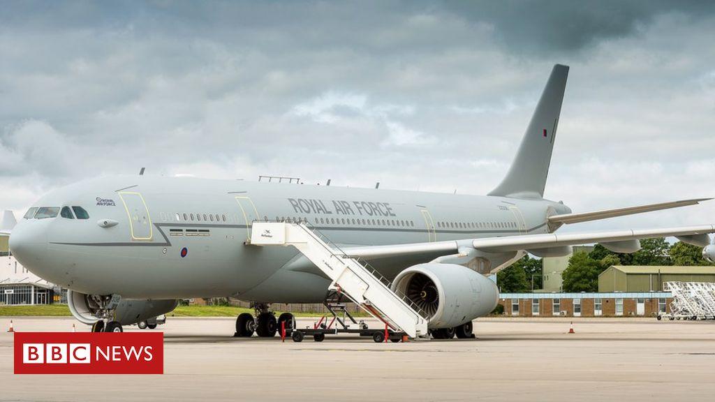 Das Flugzeug von PM wird zum Preis von 900.000 GBP umbenannt