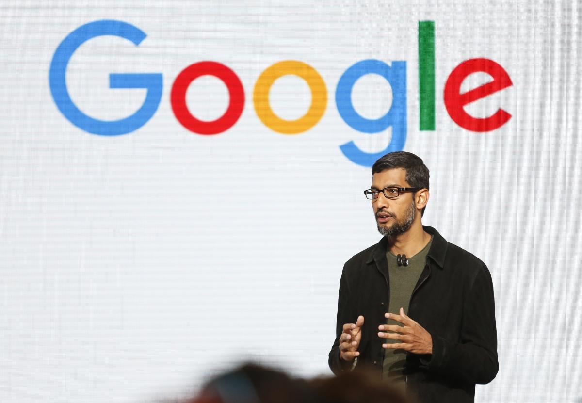 sundar pichai, google ceo sundar pichai salary, sundar pichai compensation in 2017, ceo sundar pichai