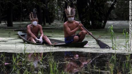 Bericht: Brasiliens Ureinwohner sterben mit alarmierender Geschwindigkeit an Covid-19