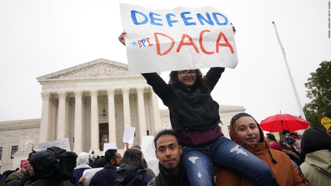 Der Oberste Gerichtshof verhindert, dass Trump die DACA beendet