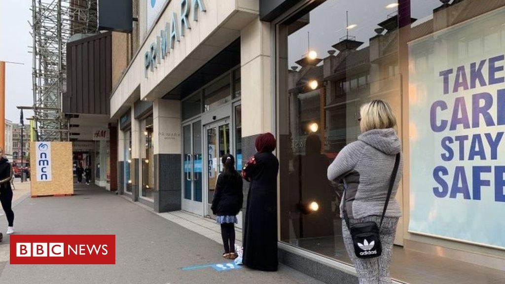 """Coronavirus: """"Ausbruch"""" berichtet in Leicester und Cleckheaton"""