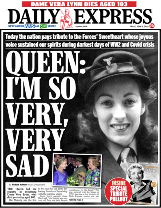 Daily Express 19. Juni