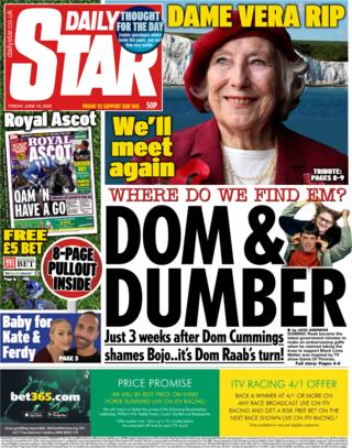Daily Star 19. Juni