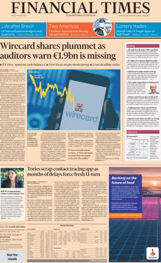 Financial Times 19. Juni