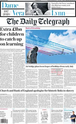 Telegraph 19. Juni