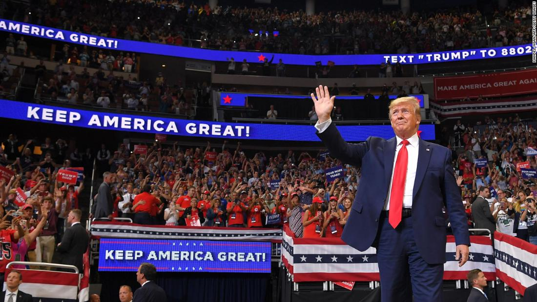 Trump Rallye in Tulsa, Oklahoma