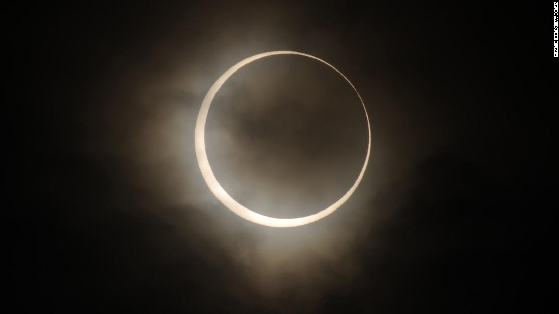 Sonnenfinsternis 2020: Siehe die ringförmige Sonnenfinsternis im Juni am Sonntag