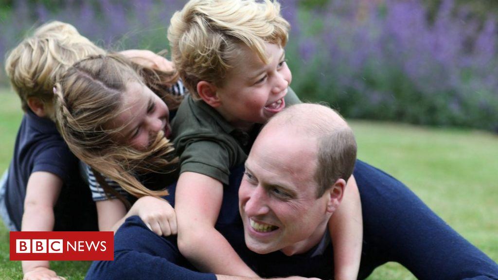 Prinz William: Verspielte Bilder zum Geburtstag des Herzogs und zum Vatertag