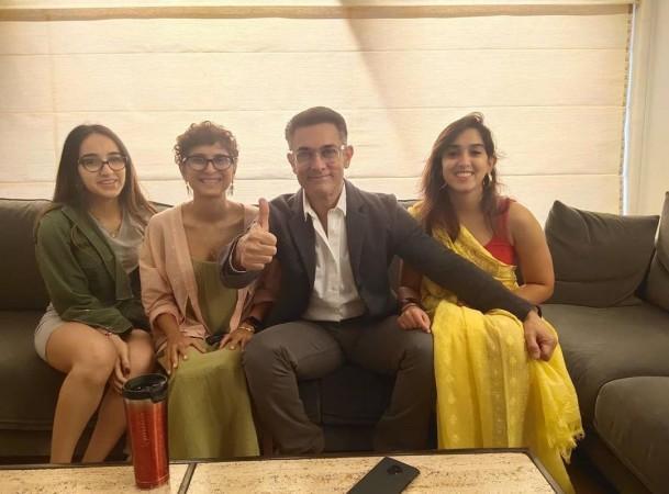 Aamir Khan, Kiran Rao, Ira Khan