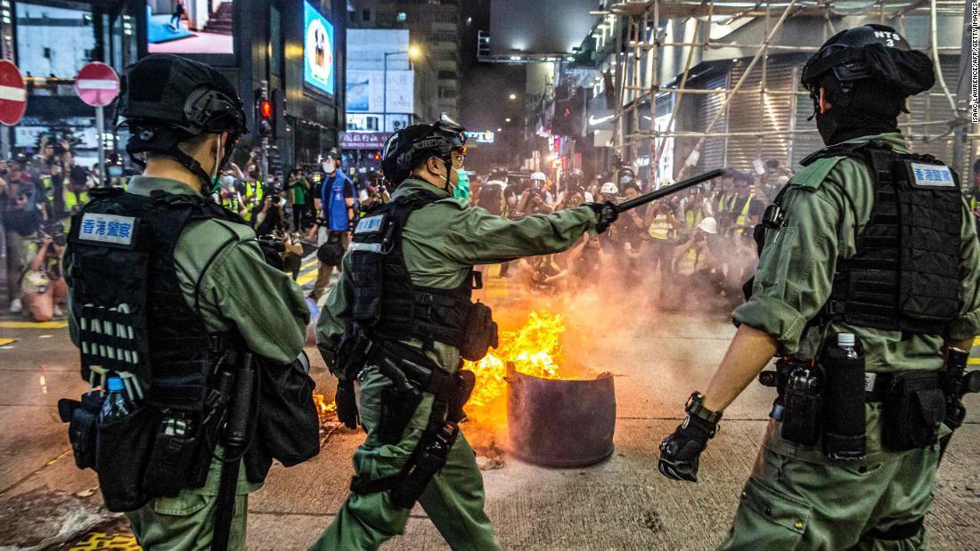 China enthüllte einige Details des nationalen Sicherheitsgesetzes von Hongkong und sie sind so schlecht, wie Kritiker befürchtet hatten