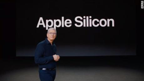 """Apple kündigte an, auf seine eigenen Chips für die Mac-Computerlinie umzusteigen """"Apple Silicon."""""""