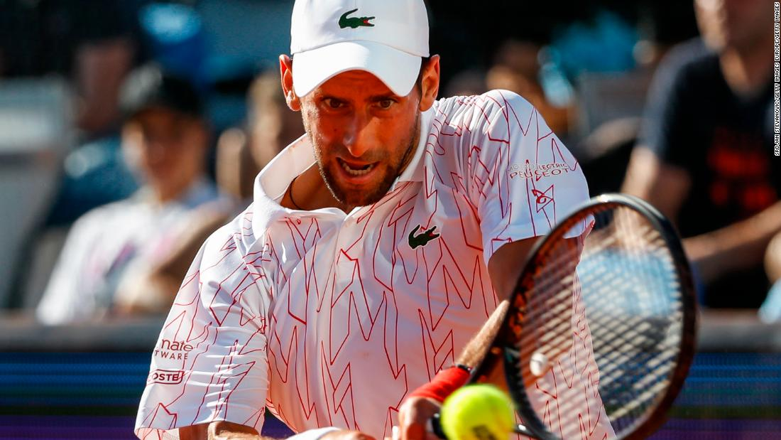 Novak Djokovic testet nach dem Adria Tour-Event positiv auf Coronavirus