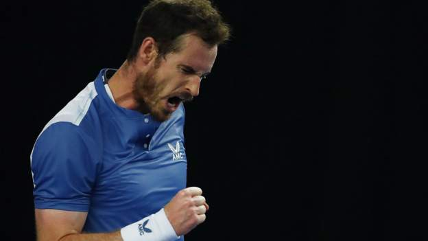 Andy Murray gewinnt den Auftakt der Battle of the Brits gegen Liam Broady
