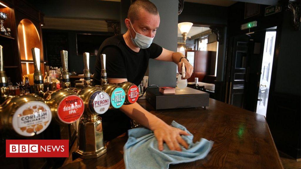 Coronavirus: Neue Ratschläge für Unternehmen in England zur sicheren Wiedereröffnung