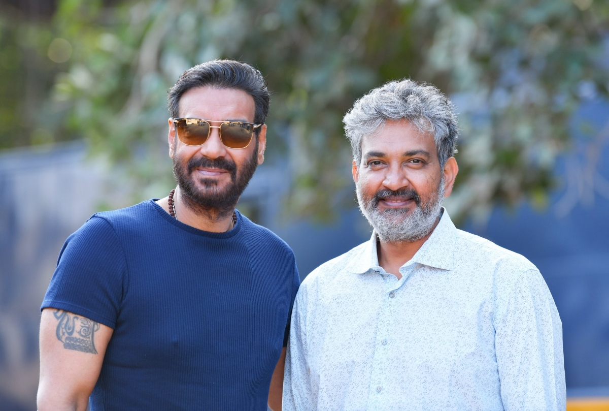 Ajay Devgn starts shooting for SS Rajamouli