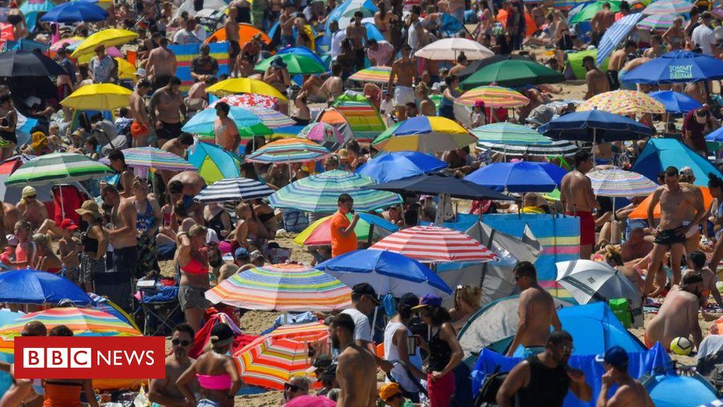 Mittwoch Großbritanniens heißester Tag des Jahres, soweit die Hitzewelle anhält