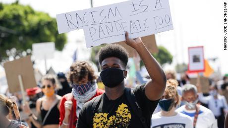 Proteste gegen Black Lives Matter haben laut Untersuchungen nicht zu einem Anstieg der Coronavirus-Fälle geführt