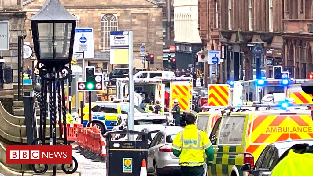 """""""Drei Menschen erstochen"""" im Stadtzentrum von Glasgow"""