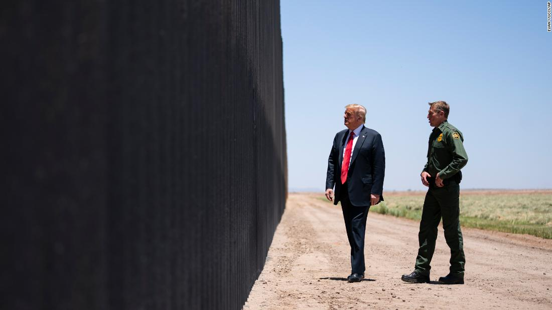 Trump kann keine Militärgelder für die Grenzmauer umleiten, sagt das Bundesberufungsgericht
