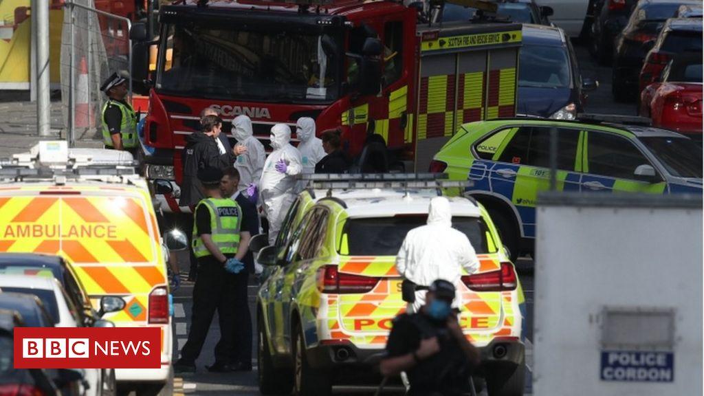 Offizier erstochen in Glasgow Hotelangriff benannt
