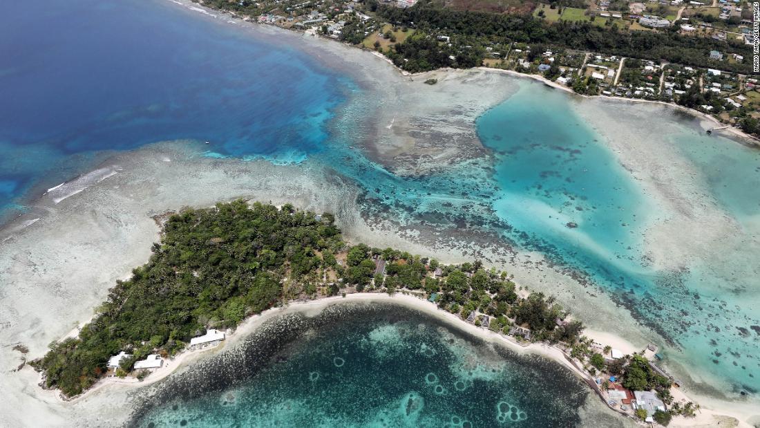 Während der Pandemie eröffnete China eine Botschaft auf einer winzigen, abgelegenen pazifischen Insel. Hier ist der Grund