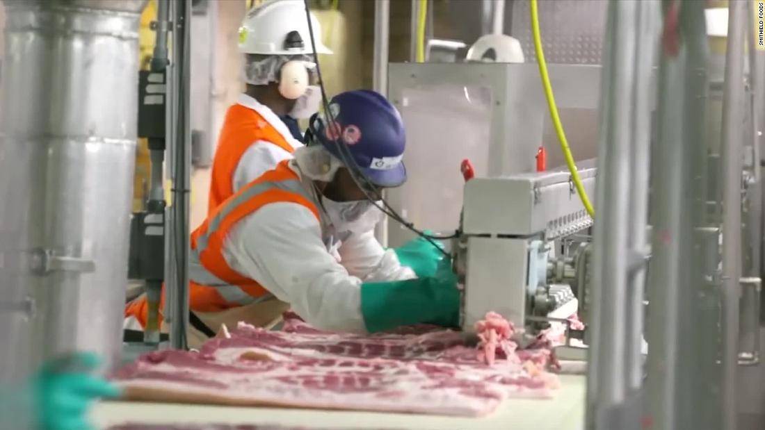Fleischverpackungsanlagen werden zu den neuesten Covid-19-Brutstätten