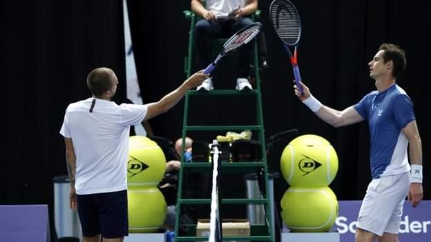 Schlacht der Briten: Andy Murray von Dan Evans geschlagen
