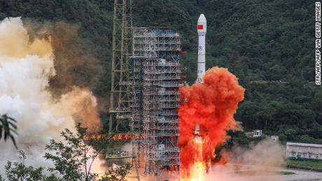 Chinas GPS-Rivale Beidou ist nach dem endgültigen Start des Satelliten nun voll funktionsfähig