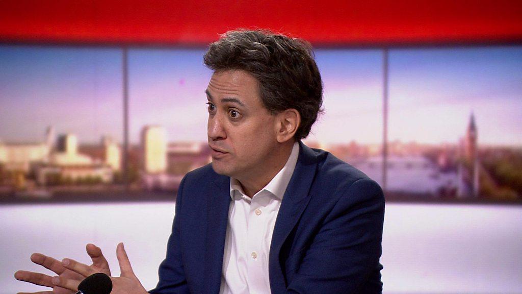 """Rebecca-Long Bailey: Ed Miliband sagt, dass Labour-Linke nicht vor einer """"Säuberung"""" stehen."""