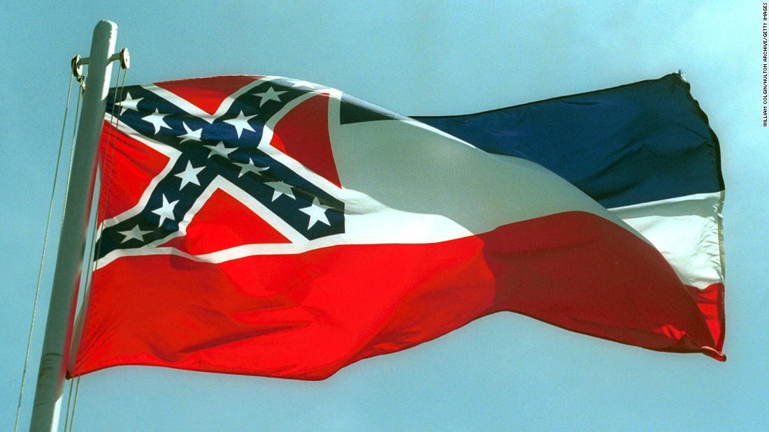 Staatsflagge von Mississippi: Der Gesetzgeber verabschiedet ein Gesetz zur Änderung der Staatsflagge
