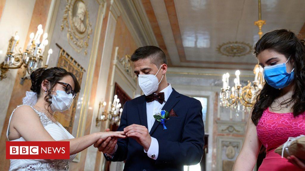 Coronavirus: Neue Anleitung für Hochzeiten in England