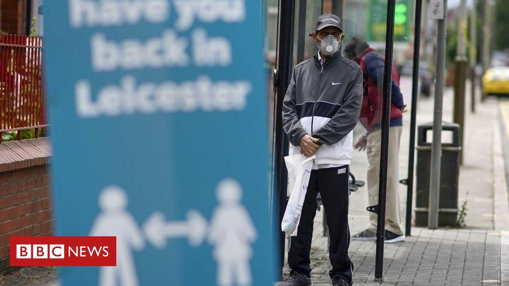 Die Leicester-Sperre wurde verschärft, als die Coronavirus-Fälle zunahmen