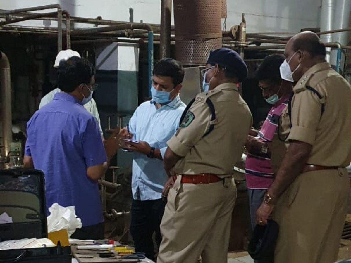 Two killed, four hospitalised after gas leak at pharma company in Visakhapatnam