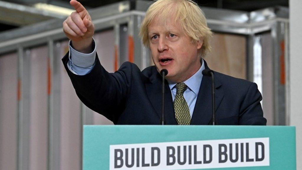 """Coronavirus: Johnson legt einen """"ehrgeizigen"""" Konjunkturplan vor"""