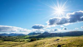 Strahlender Sonnenschein im Lake District