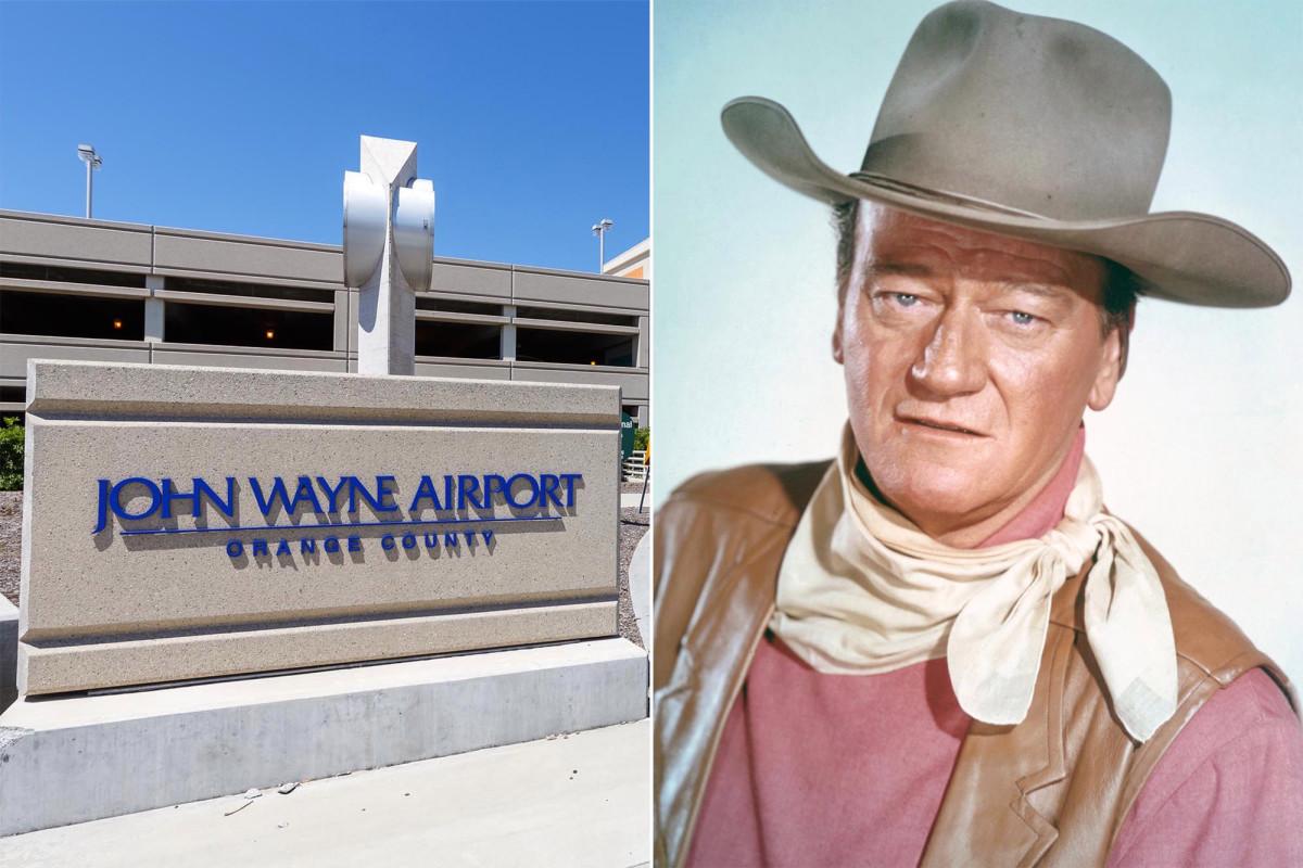 California Dems fordern die Umbenennung des Flughafens John Wayne