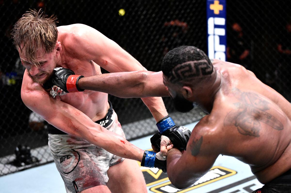 Curtis Blaydes führt Alexander Volkov zum vierten UFC-Sieg in Folge