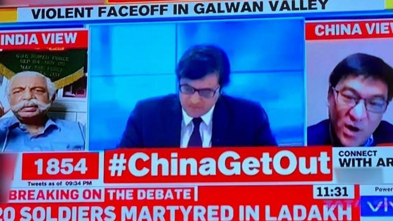 Indien China Zusammenstoß