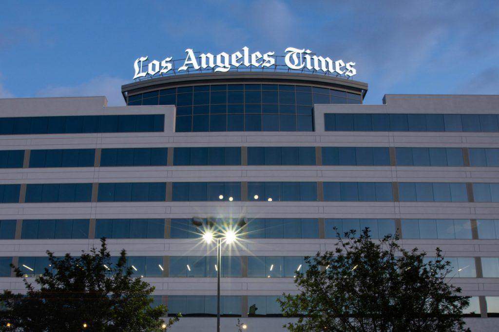 Die Los Angeles Times steht vor einer Gegenreaktion bei der Behandlung von Rennproblemen
