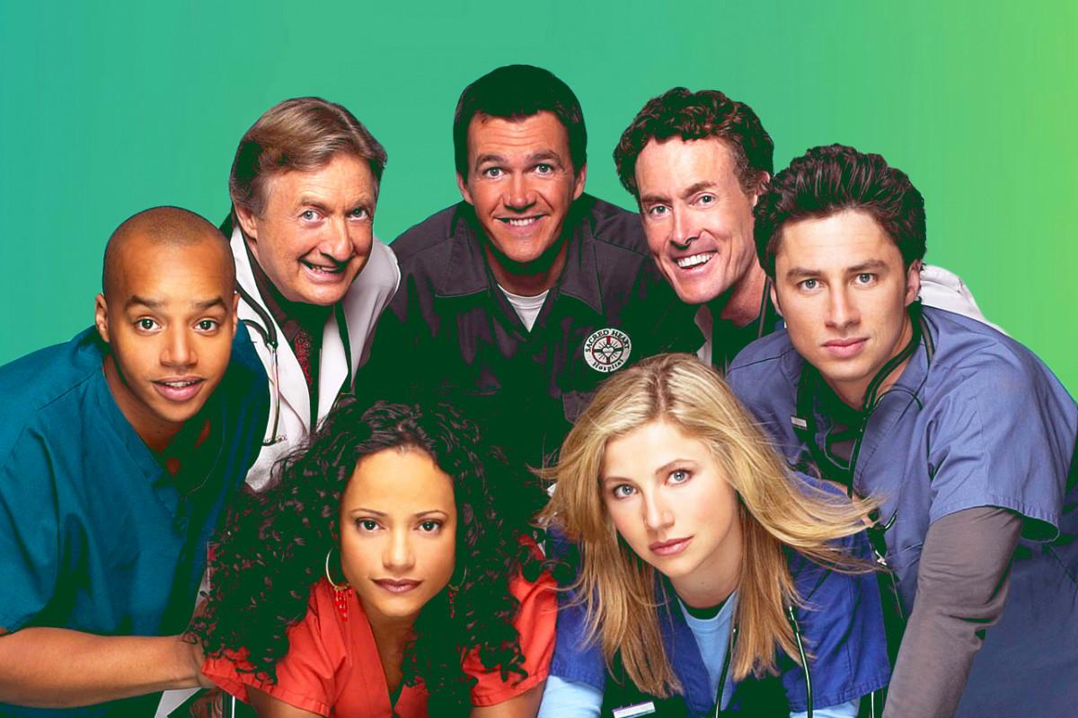 """Drei """"Scrubs"""" -Episoden mit Blackface aus Hulu"""