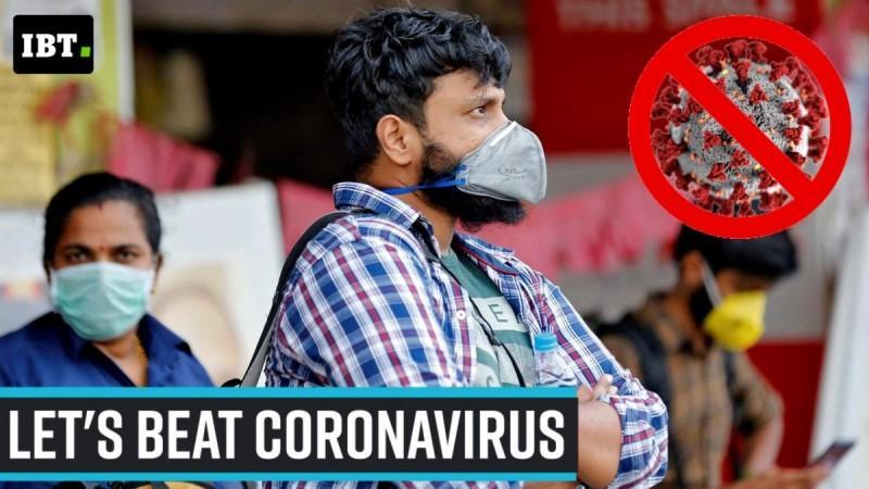 Lassen Sie uns das Coronavirus besiegen