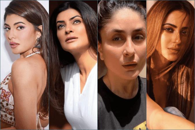 Jacqueline Fernandez, Sushmita Sen, Kareena Kapoor Khan und Rakul Preet Singh