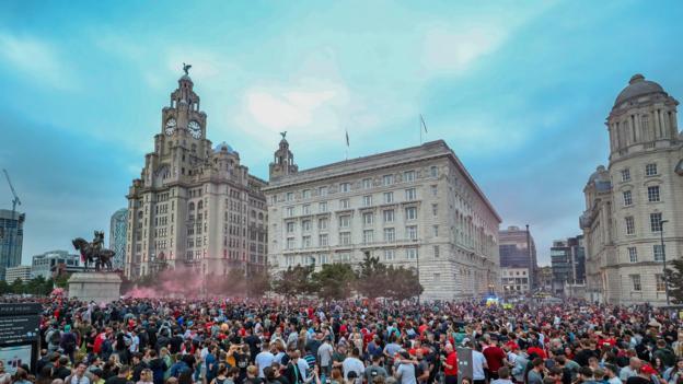Jürgen Klopp: Liverpools Chef sagt, die Fans müssen warten, um gemeinsam zu feiern