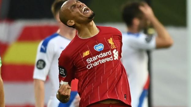 Liverpool 4-0 Crystal Palace: Die Roten bewegen sich innerhalb von zwei Punkten vor dem Meistertitel
