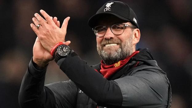 """Liverpools Chef Jürgen Klopp sagt, """"Geschichte ist keine Last mehr"""" nach dem Titelgewinn"""
