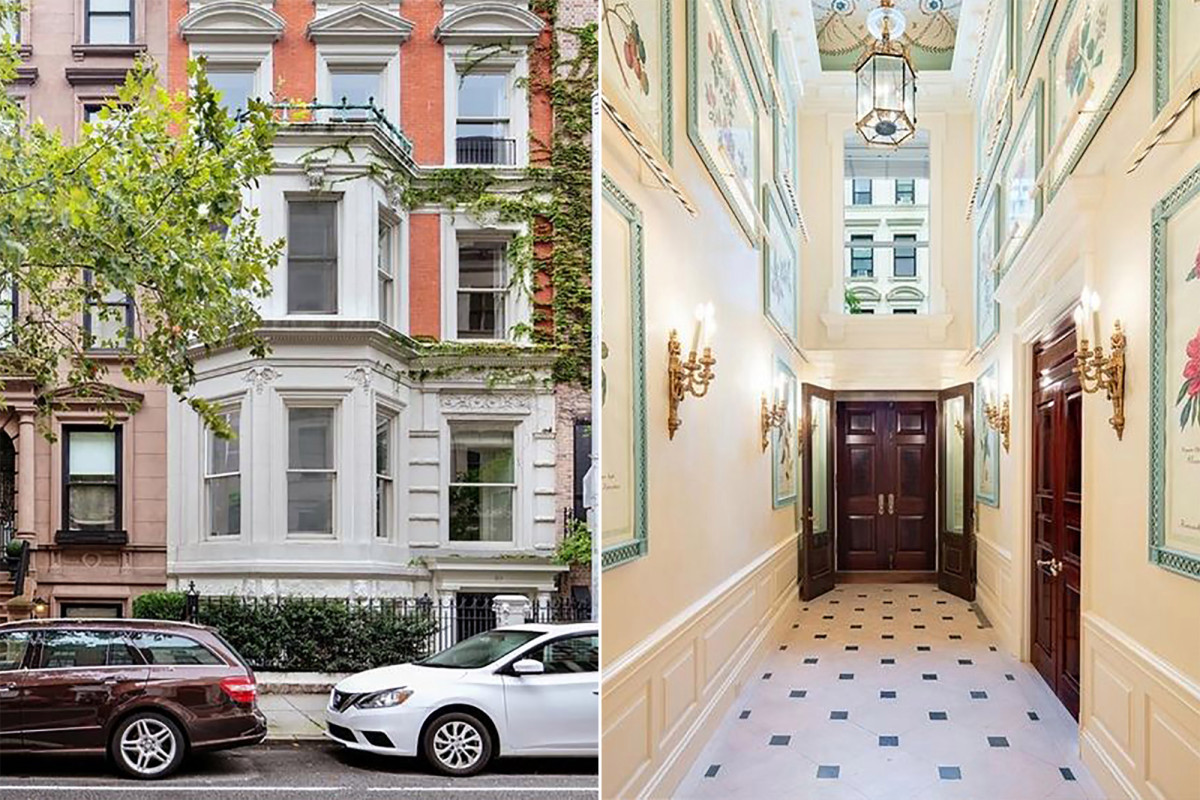 Manhattan Stadthaus mit verstecktem Panikraum verkauft sich schließlich