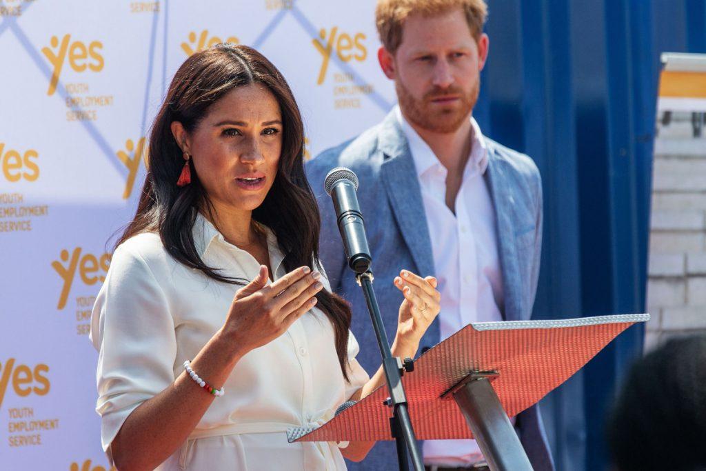 Meghan Markle, Prinz Harry, wollte bis zu 1 Million Dollar pro Rede verdienen