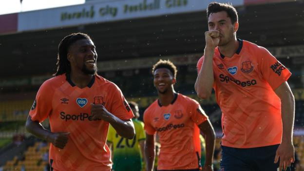 Norwich 0-1 Everton: Michael Keane gewinnt für Toffees